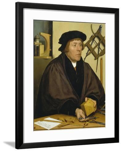 Portrait of Nikolaus Kratzer, 1528-Hans Holbein the Younger-Framed Art Print