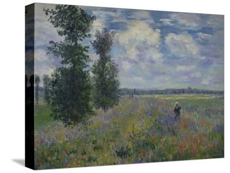 Poppies (Near Argenteuil) 1873-Claude Monet-Stretched Canvas Print