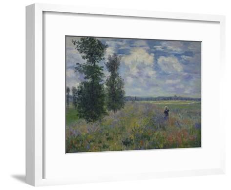 Poppies (Near Argenteuil) 1873-Claude Monet-Framed Art Print