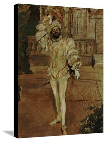 The Singer D'Andrade as Don Juan (Or: the Champagne Song), 1902-Max Slevogt-Stretched Canvas Print