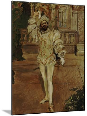 The Singer D'Andrade as Don Juan (Or: the Champagne Song), 1902-Max Slevogt-Mounted Giclee Print