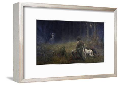 Vision of St. Hubert, 1892-Wilhelm Carl R?uber-Framed Art Print