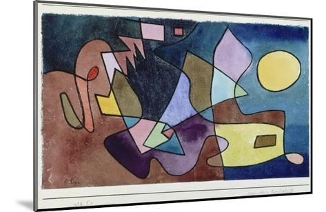 Dramatic Landscape, 1928-Paul Klee-Mounted Giclee Print