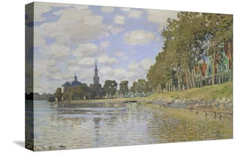 Zaandam, 1871-Claude Monet-Stretched Canvas Print