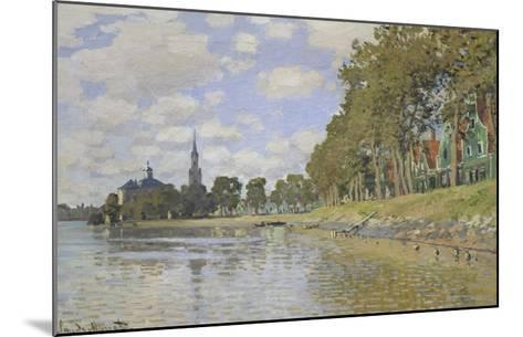 Zaandam, 1871-Claude Monet-Mounted Giclee Print