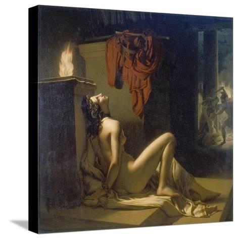 Cassandra Erfleht Minervas Rache Gegen Ajax-Jerome Martin Langlois-Stretched Canvas Print