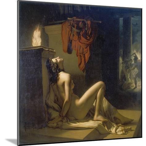 Cassandra Erfleht Minervas Rache Gegen Ajax-Jerome Martin Langlois-Mounted Giclee Print