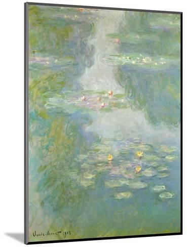 Waterlilies, 1908-Claude Monet-Mounted Giclee Print