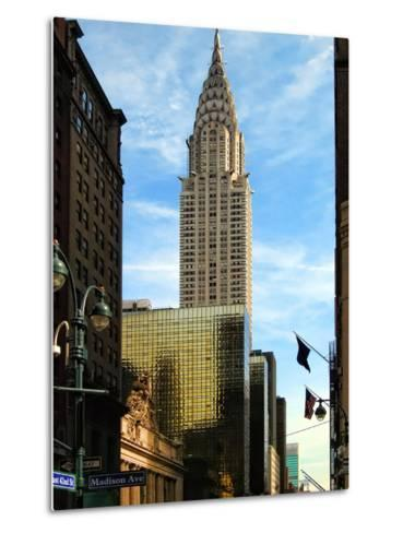 Chrysler Building and Madison Avenue, Manhattan, New York City-Sabine Jacobs-Metal Print