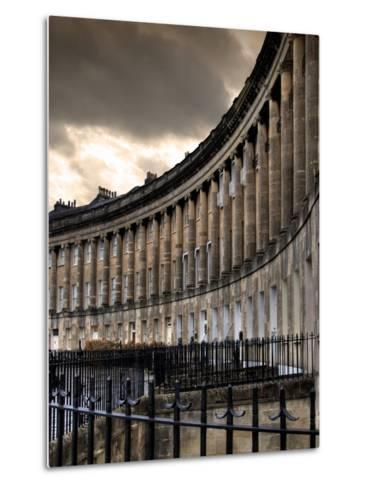 The Royal Cresecent in Bath, England-Tim Kahane-Metal Print