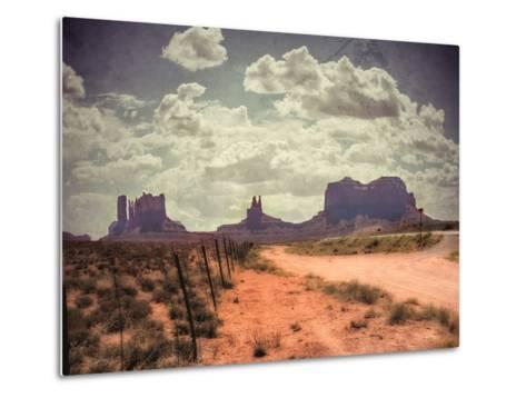 Monument Valley-Andrea Costantini-Metal Print
