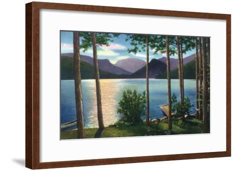 Grand Lake, Colorado - Sunrise Scene on the Lake-Lantern Press-Framed Art Print