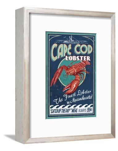 Cape Cod, Massachusetts - Lobster-Lantern Press-Framed Art Print