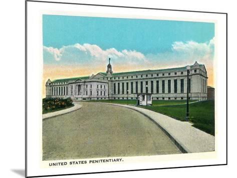 Atlanta, Georgia - US Penitentiary Exterior-Lantern Press-Mounted Art Print
