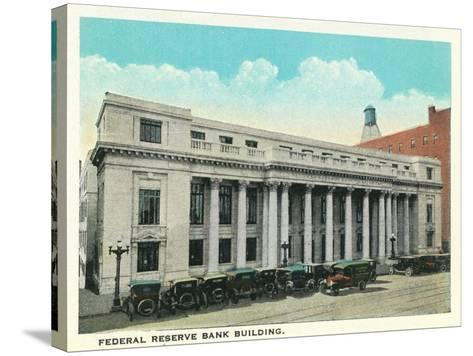 Atlanta, Georgia - Federal Reserve Bank Building Exterior-Lantern Press-Stretched Canvas Print
