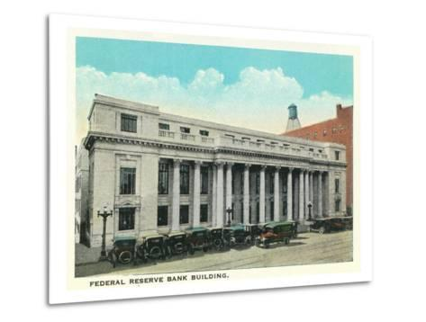 Atlanta, Georgia - Federal Reserve Bank Building Exterior-Lantern Press-Metal Print