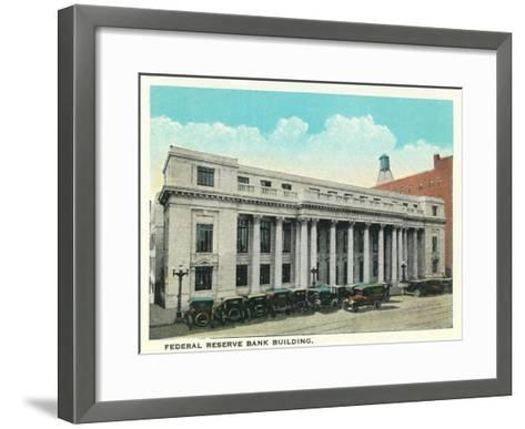 Atlanta, Georgia - Federal Reserve Bank Building Exterior-Lantern Press-Framed Art Print