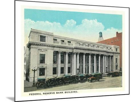 Atlanta, Georgia - Federal Reserve Bank Building Exterior-Lantern Press-Mounted Art Print