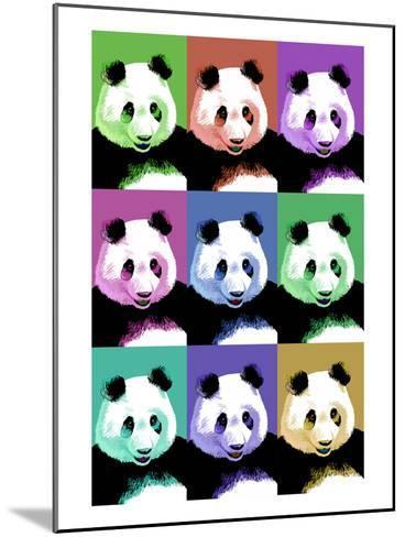 Panda Pop Art - Visit the Zoo-Lantern Press-Mounted Art Print