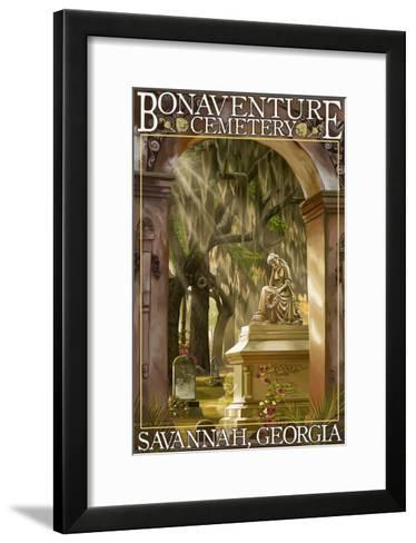 Savannah, Georgia - Bonaventure Cemetery-Lantern Press-Framed Art Print