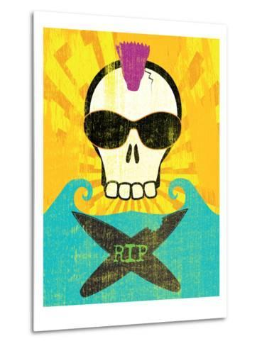 Rip-Sarah Adams-Metal Print