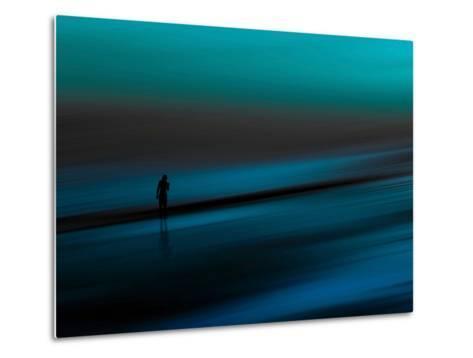 Aqua-Josh Adamski-Metal Print