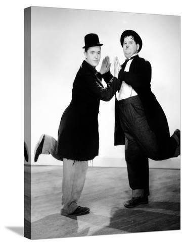 Way Out West, Stan Laurel, Oliver Hardy, 1937--Stretched Canvas Print