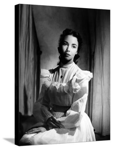 Portrait of Jennie, Jennifer Jones, 1948--Stretched Canvas Print