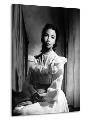 Portrait of Jennie, Jennifer Jones, 1948--Metal Print