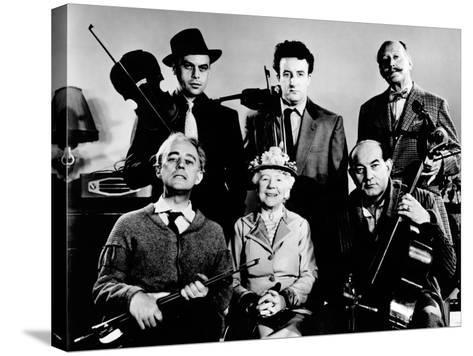 The Ladykillers, Alec Guinness, Herbert Lom, Katie Johnson, Peter Sellers, Danny Green, 1955--Stretched Canvas Print