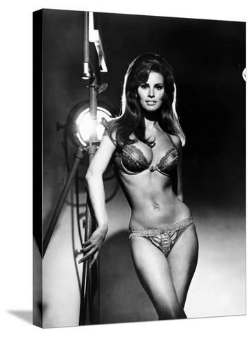Raquel Welch, Portrait from the Film, Bedazzled, 1967--Stretched Canvas Print