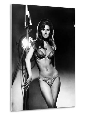 Raquel Welch, Portrait from the Film, Bedazzled, 1967--Metal Print