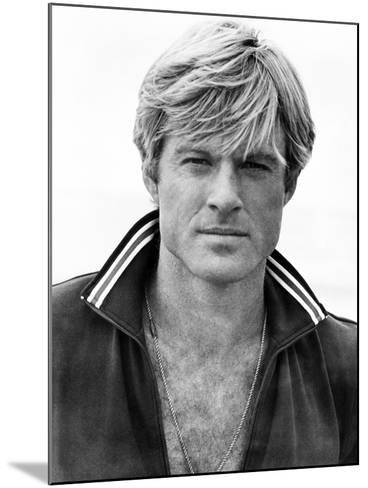 The Way We Were, Robert Redford, 1973--Mounted Photo