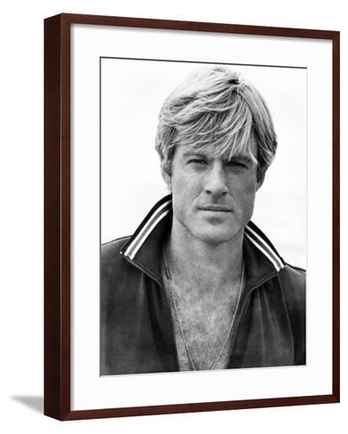 The Way We Were, Robert Redford, 1973--Framed Art Print