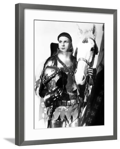 Henry V, Laurence Olivier, 1944, with Horse--Framed Art Print