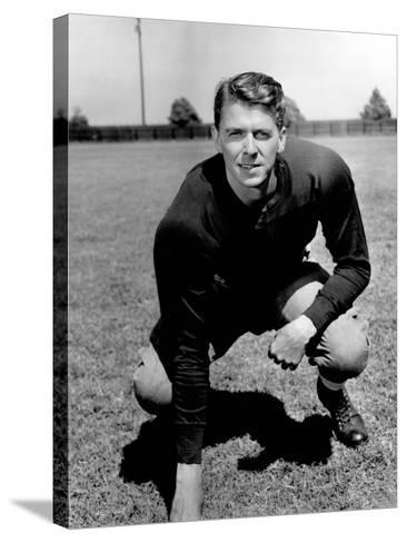 Knute Rockne All American, Ronald Reagan, 1940--Stretched Canvas Print