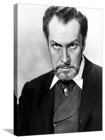 The Haunted Palace, Vincent Price, 1963--Stretched Canvas Print