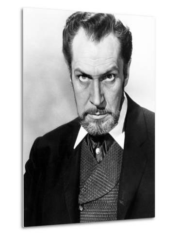 The Haunted Palace, Vincent Price, 1963--Metal Print