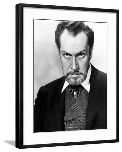 The Haunted Palace, Vincent Price, 1963--Framed Art Print