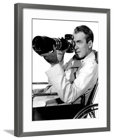 Rear Window, James Stewart, 1954--Framed Art Print