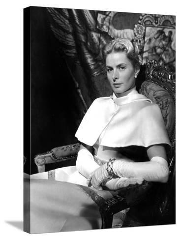 Anastasia, Ingrid Bergman, 1956--Stretched Canvas Print
