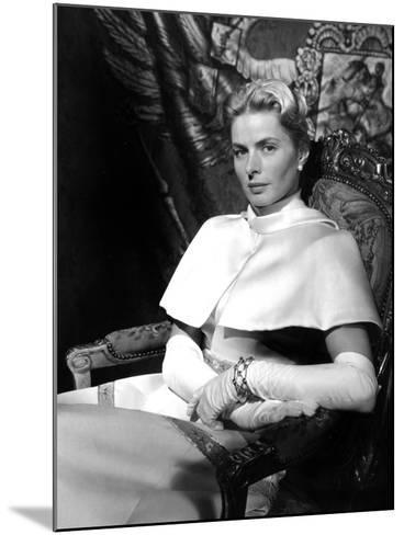 Anastasia, Ingrid Bergman, 1956--Mounted Photo