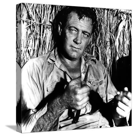 The Bridge on the River Kwai, William Holden, 1957--Stretched Canvas Print