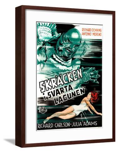 Creature from the Black Lagoon, (aka Skracken I Svarta Lagunen), Julie Adams, 1954--Framed Art Print