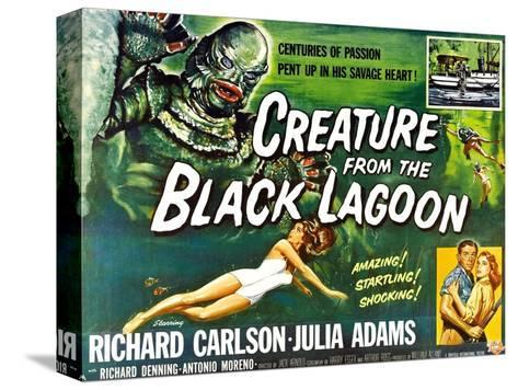 Creature from the Black Lagoon, 1954--Stretched Canvas Print