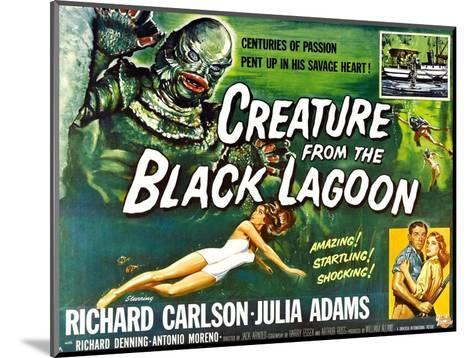 Creature from the Black Lagoon, 1954--Mounted Photo