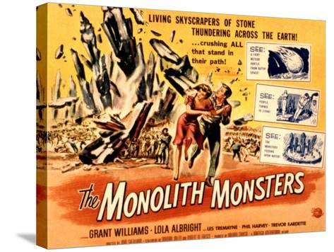 The Monolith Monsters, Grant Williams, Lola Albright, 1957--Stretched Canvas Print