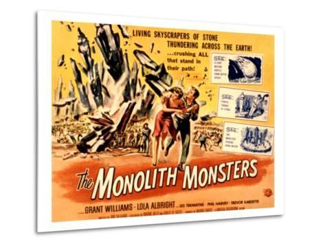 The Monolith Monsters, Grant Williams, Lola Albright, 1957--Metal Print