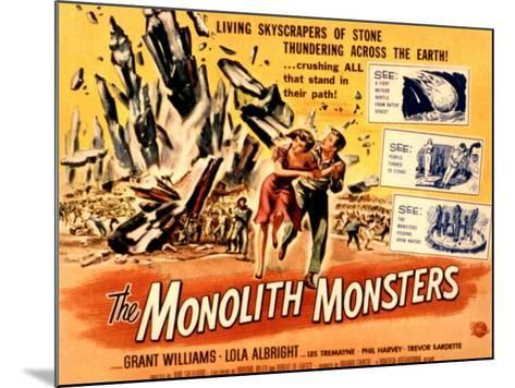 The Monolith Monsters, Grant Williams, Lola Albright, 1957--Mounted Photo
