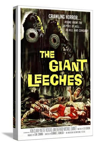 Attack of the Giant Leeches (aka the Giant Leeches), 1959--Stretched Canvas Print